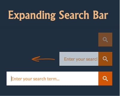 How to Create an Expanding Search Box with CSS